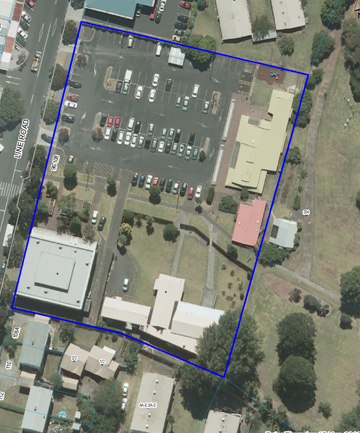 GI CENTRE: The site where the Glen Innes Music and Arts Centre will be built.