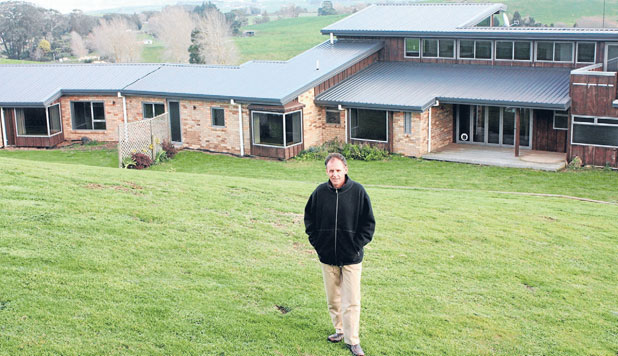 GREAT BUY: Maungatautari Ecological Island Trust general manager, Malcolm Anderson, sees the purchase of this million-dollar property bordering the maunga as a