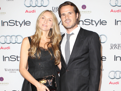 New Zealand-born fashion designer Collette Dinnigan is thrilled to be pregnant with her second child at the age of 46.