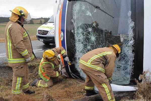 Southland bus crash