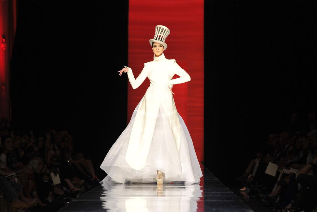 Gaultier's Paris Couture Week collection.