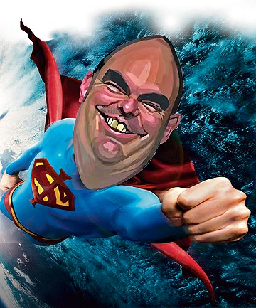 Steven Joyce by Murray Webb