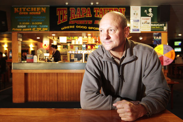 'MY FAMILY': Te Rapa Tavern publican Tim Smith is looking forward to taking his business to a new site.