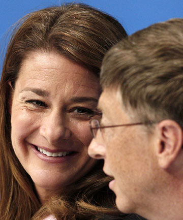 CONTRACEPTIVE PUSH: Melinda and Bill Gates are expected to boost efforts at improving access to contraception in the developing world by giving a large donation.
