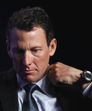 DELAY: Question marks over cycling legend Lance Armstrong will continue for another month at least.
