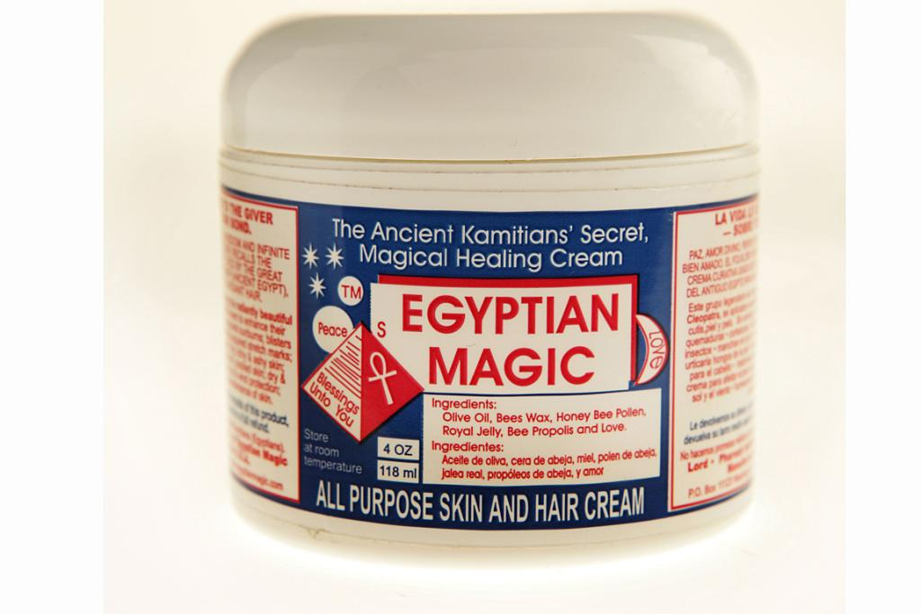 Egyptian Magic is so natural you could almost eat it. But don't.