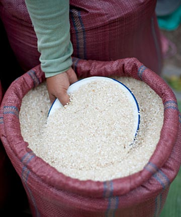 RICE VARIETY: The widely grown Indian rice Swarna has a low GI while Basmati has a medium GI.