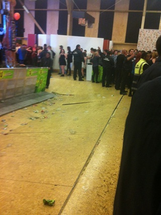 Floor collapse at University of Canterbury