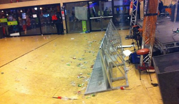Concert Floor Collapse