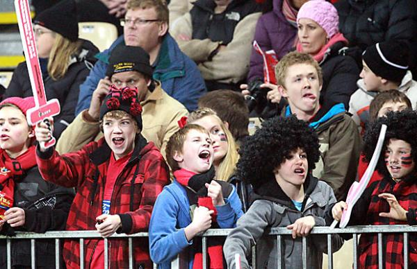 Crusaders young fans