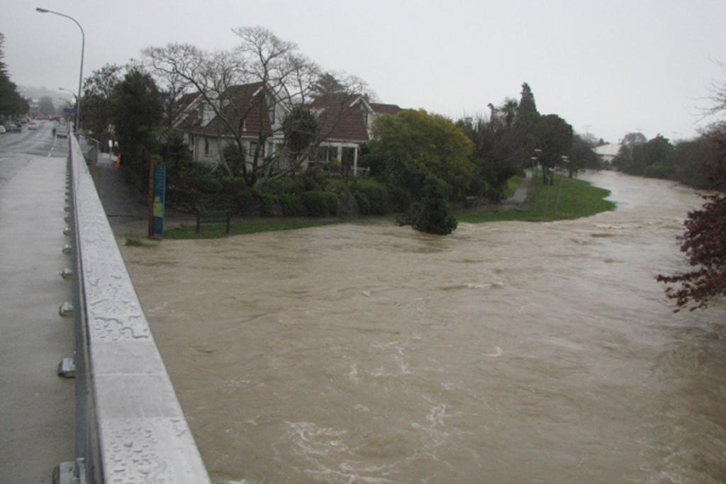 Flooding in Nelson.