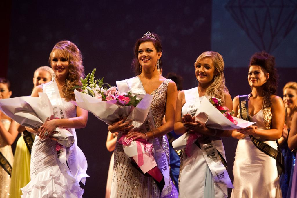 Miss Manawatu and Miss Teen 2012 competition.