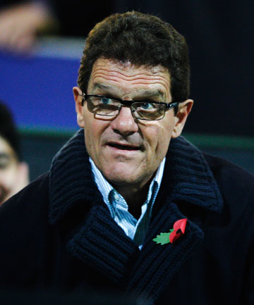 NEW JOB: Fabio Capello has reportedly taken over as coach of the Russian national team.