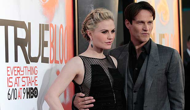 DOUBLE-JOY: Stephen Moyer has confirmed that he and wife, Kiwi actress Anna Paquin, are expecting twins.