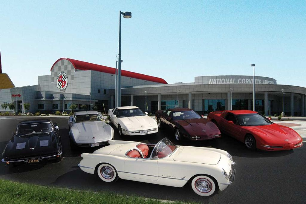 "An exhibition called the ""The World's Only Threes"" outside the US National Corvette Museum in Bowling Green, Kentucky, features Corvettes from 1953, 1963, 1973, 1993, 2003 and the only 1983 in existence."