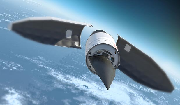 BELIEVE IT OR NOT: The Falcon hypersonic HTV-2 aircraft.