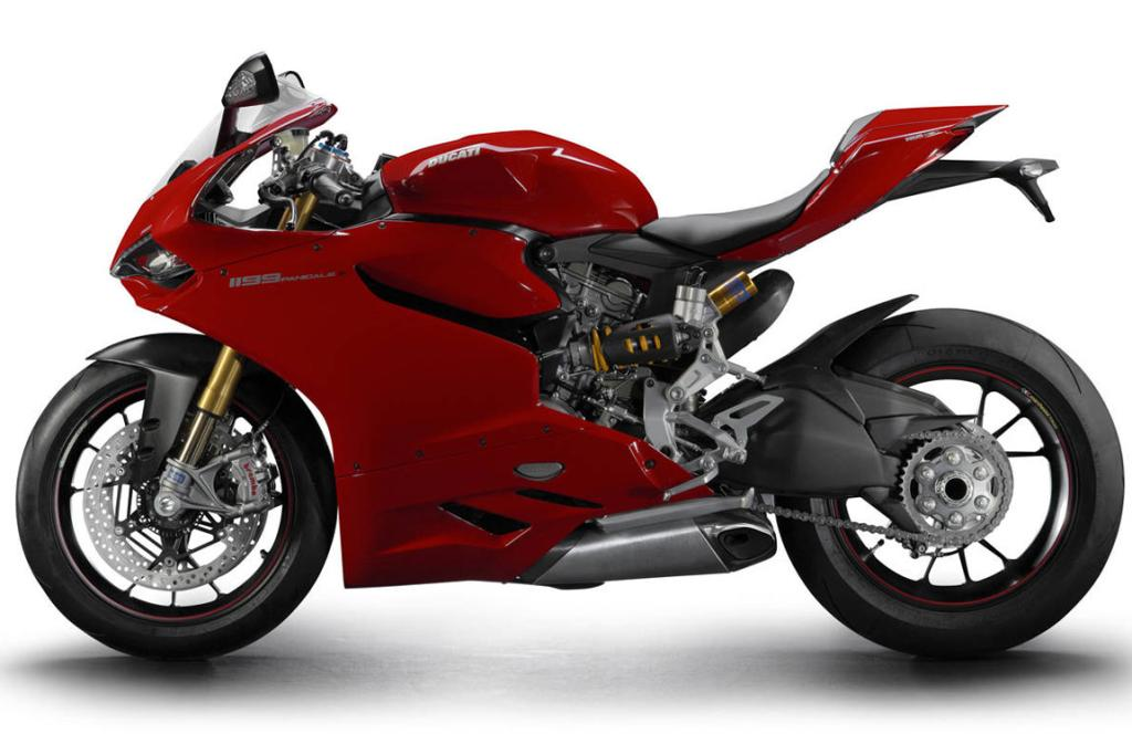 The Ducati 1199 Panigale.