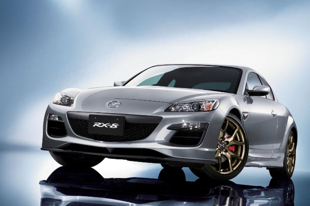 The Mazda RX-8 Spirit R.