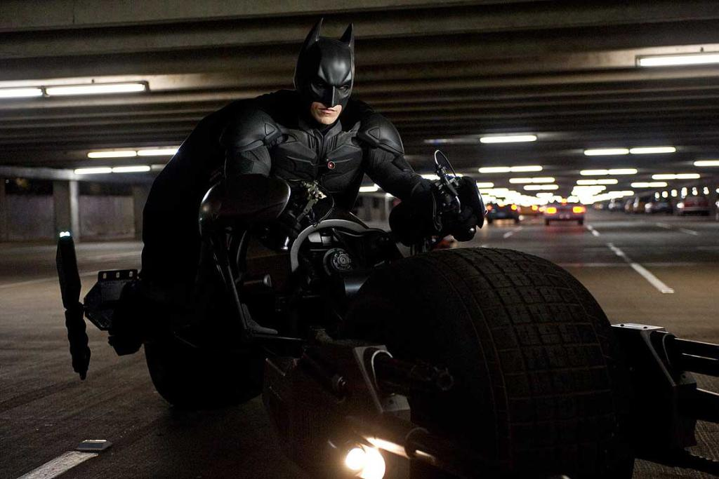 A scene from The Dark Knight Rises