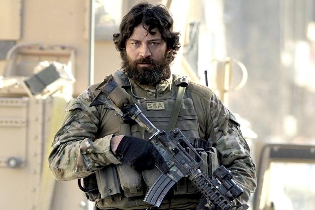 Willie Apiata in action in Afghanistan's capital, Kabul.