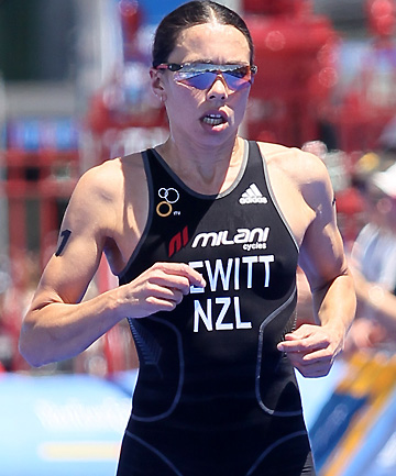 HOT PICK: NZ's Andrea Hewitt in action.