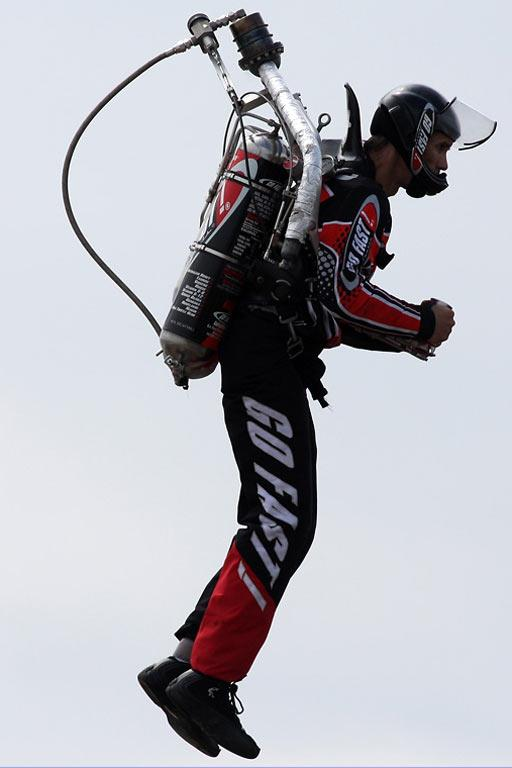 Go Fast Jet Pack pilot Nick Macomber will perform at the Speedshow.