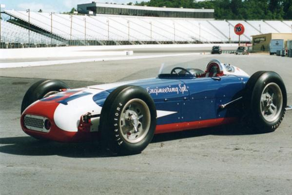 The 1959 Cornis-Offenhauser Indy car is now owned by a New Zealand collector and will be on display a the Speedshow.