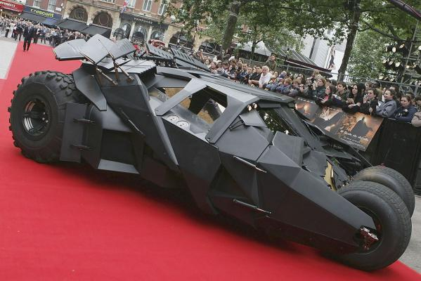 Batmobile from The Dark Knight.