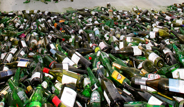 RECYCLE: New bottlebanks in Wellington are for clean brown, green and clear glass bottles and jars only.