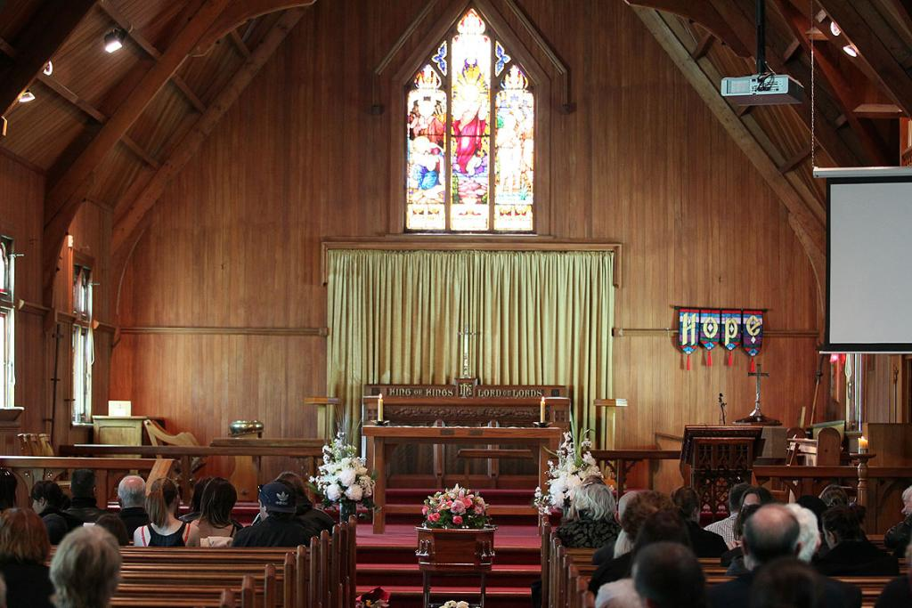 Mourners gather to farewell Jane Furlong.