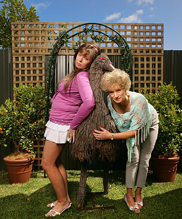 Kath and Kim: The Souvenir Editions will include previously unseen footage.