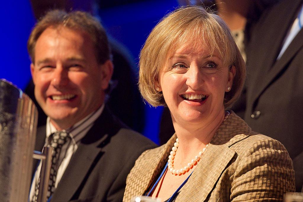 National MP Amy Adams at the conference at Sky City in Auckland.
