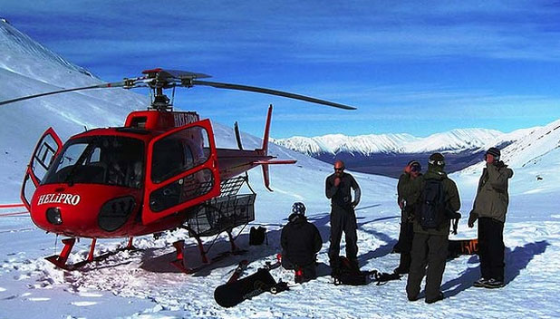 CHOP CHOP CHOPPER: Heli-skiing in New Zealand is not as unaffordable as you might think.