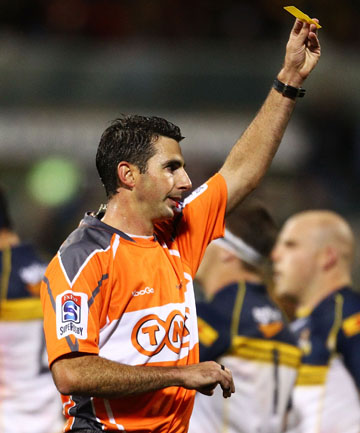 CRAIG JOUBERT: The World Cup finals referee will oversee the Chiefs clash against the Crusaders.