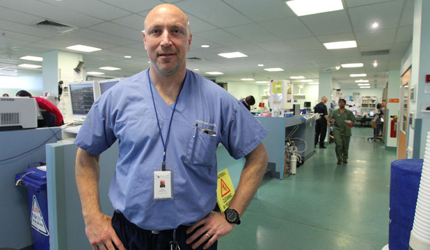 Southland Hospital emergency department consultant Dr Neil Waldman.