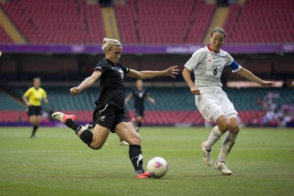 Football Ferns at the Olympics