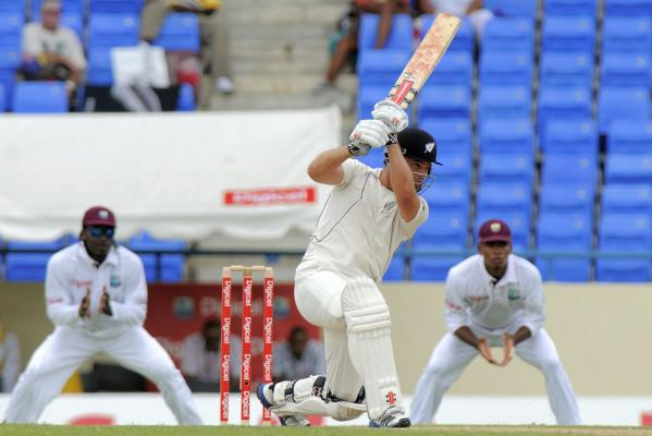 Black Caps in control