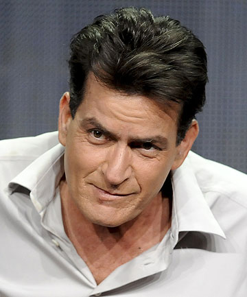 BACK TO WHAT HE KNOWS: Charlie Sheen has found success again with sitcom Anger Management.