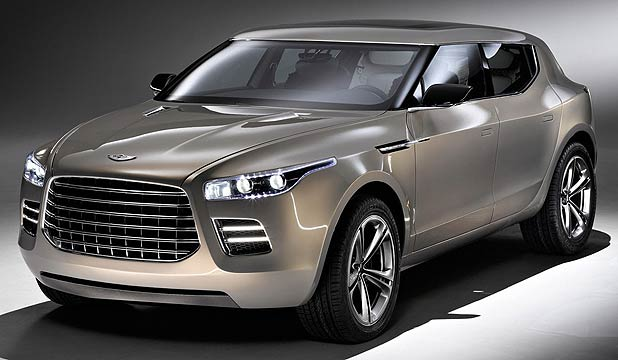 The good news is any Aston Martin SUV won't look like this!