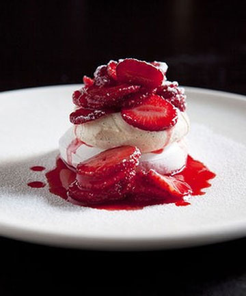 Strawberry French Meringue