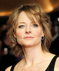 HAPPY TO HELP: Jodie Foster