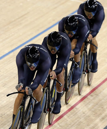 New Zealand men's pursuit team