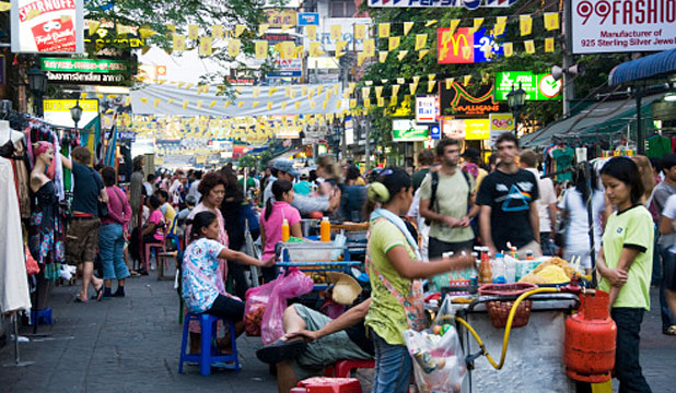 BUSTLING: Bangkok is one of the most popular destinations in Southeast Asia.