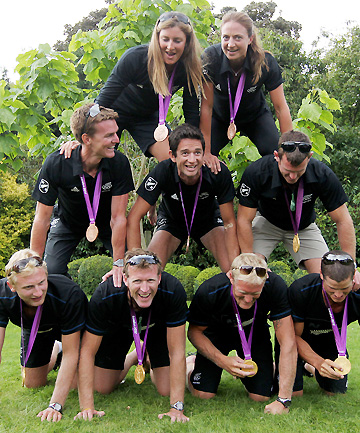New Zealand's rowing medalists