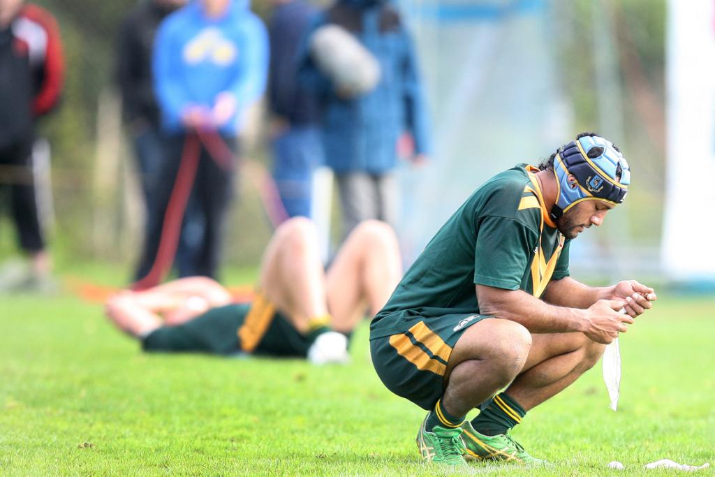 Marist stand off Simon Ieremia disappointed at his team's loss.