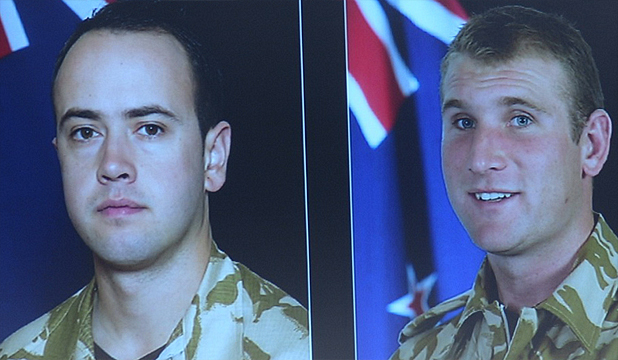 FALLEN: Lance Corporal Pralli Durrer and Lance Corporal Rory Malone.