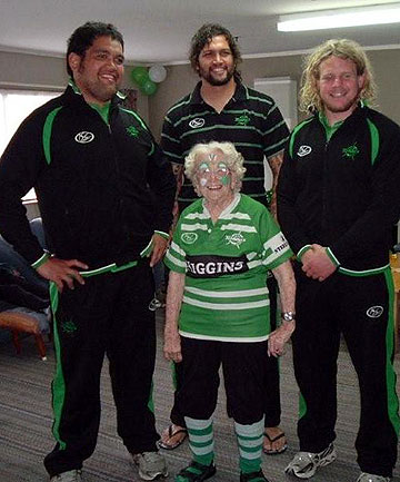 David Te Moana, Reece Robinson,  Bessie Sanson and Sean O'Connor