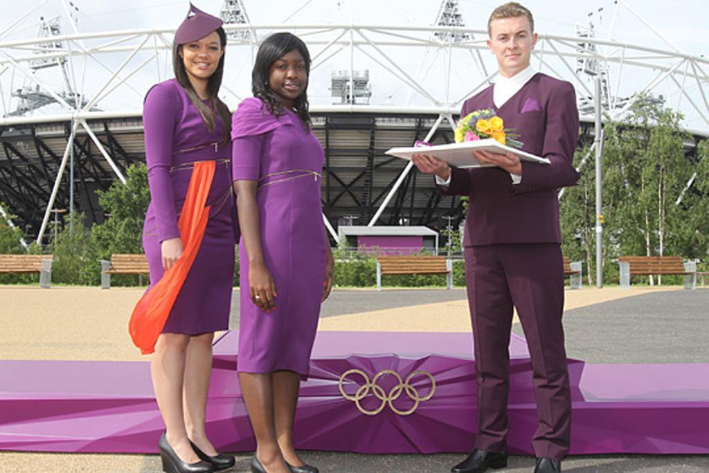 Medal bearers for the London Olympics channel a little bit of Star Trek