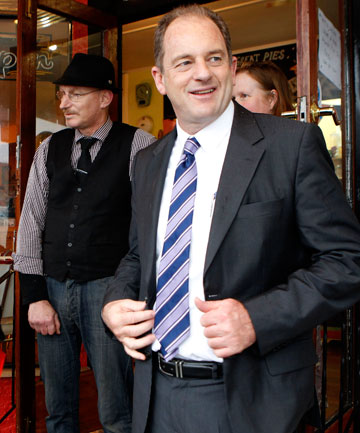 WRONG FOCUS: Labour leader David Shearer says the government's focus on urban growth is pushing Kiwis off overseas.