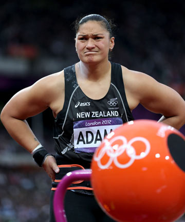 NO CONSOLATION: The NZOC has pledged to review its handling of the administrative errors that affected Valerie Adams' Olympic shot put title defence, which resulted in a silver medal.